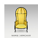 NAMIB | ARMCHAIR by BRABBU