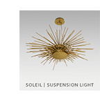 SOLEIL | SUSPENSION LIGHT by BRABBU