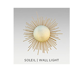 SOLEIL | WALL LIGHT by BRABBU