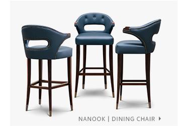 NANOOK   Modern Bar Chair by BRABBU