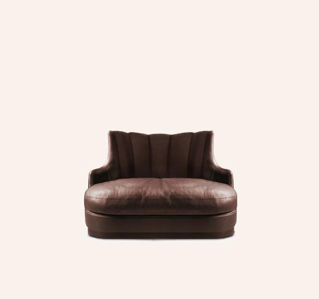 Plum Single Sofa