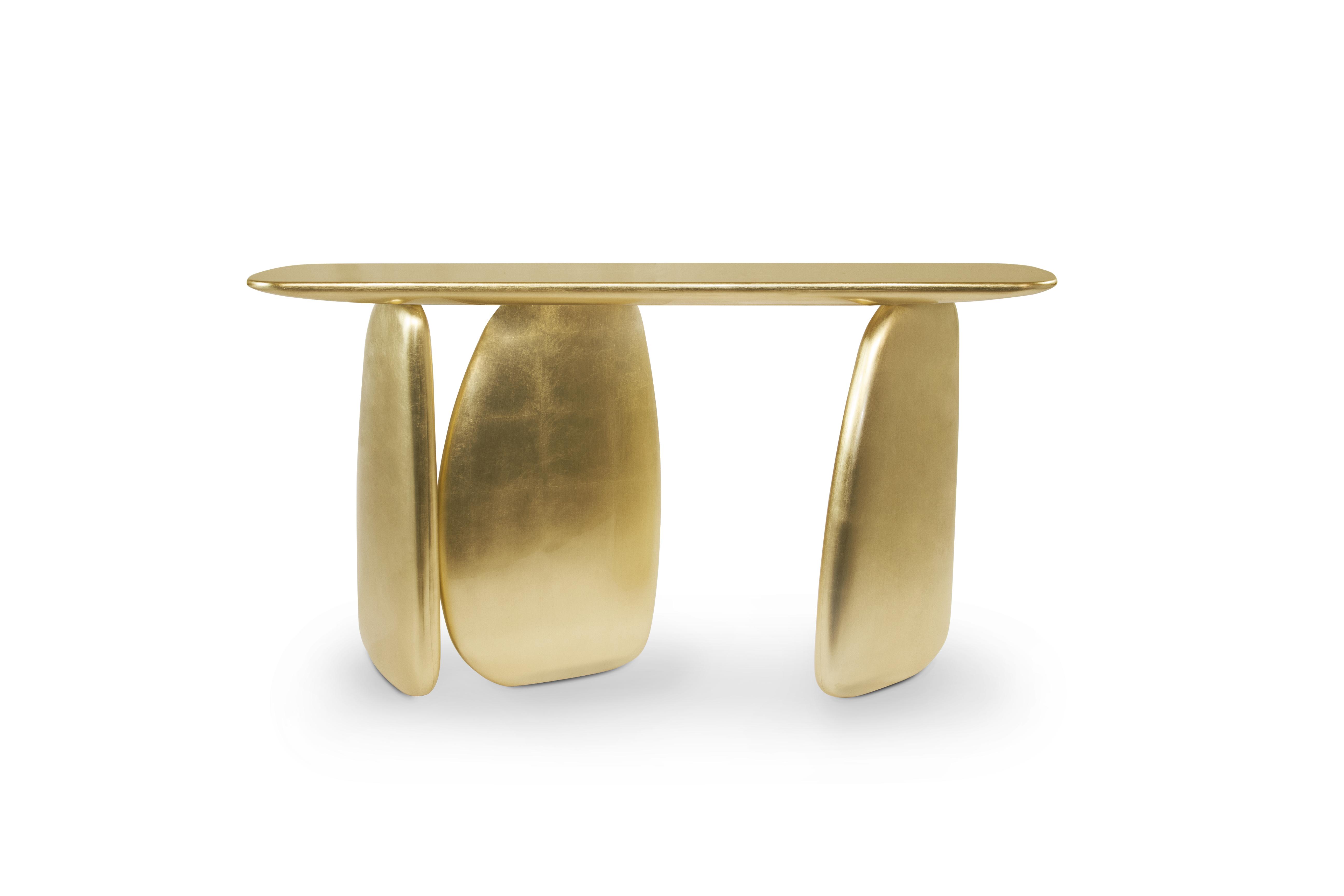 ardara  modern console table modern contemporary design by brabbu - ( download image )