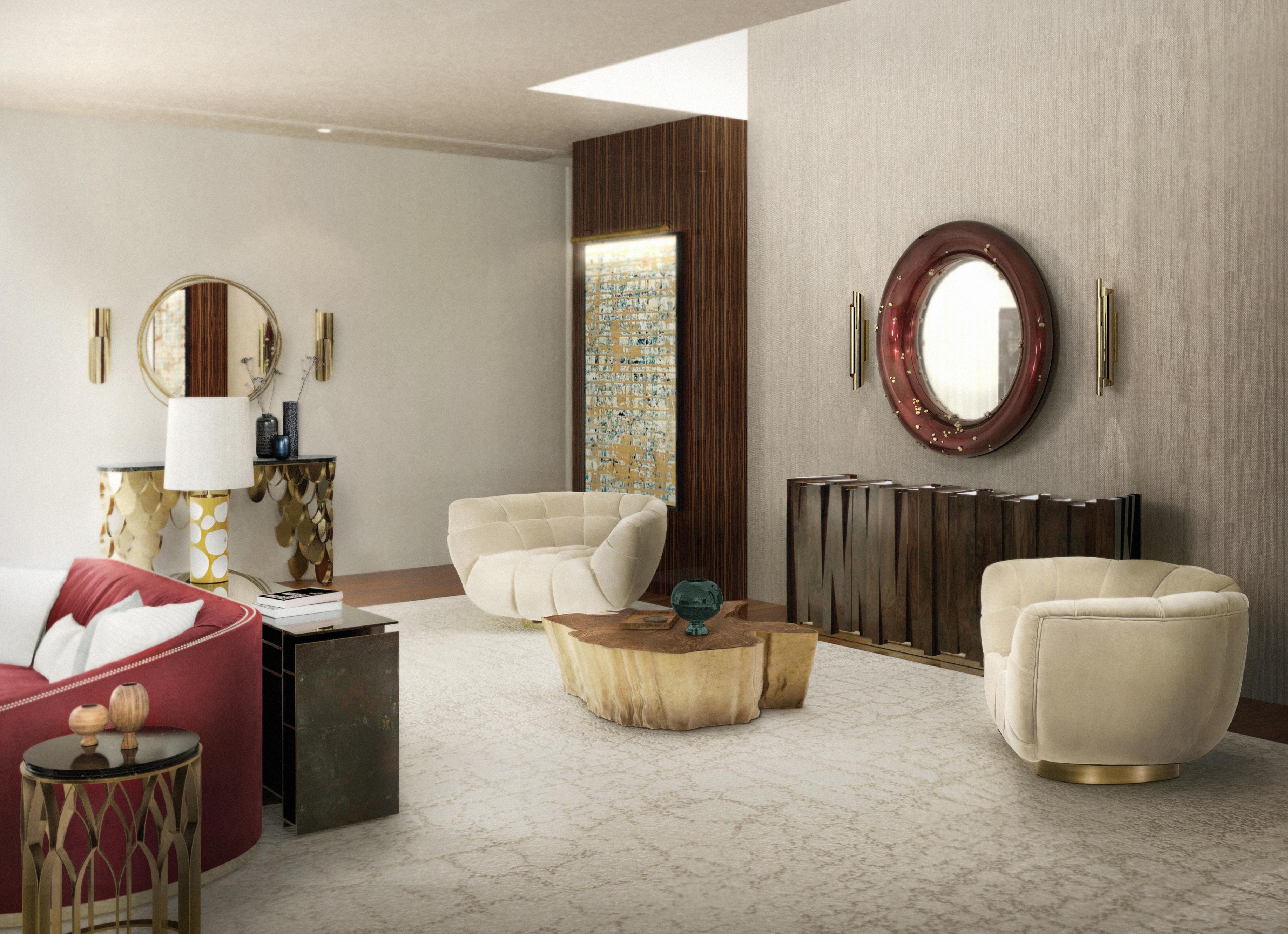 Nazca Walnut Sideboard Mid Century Modern Design By Brabbu
