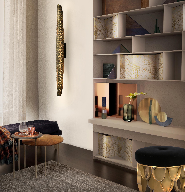 Koi Upholstered Stool Contemporary Design By Brabbu