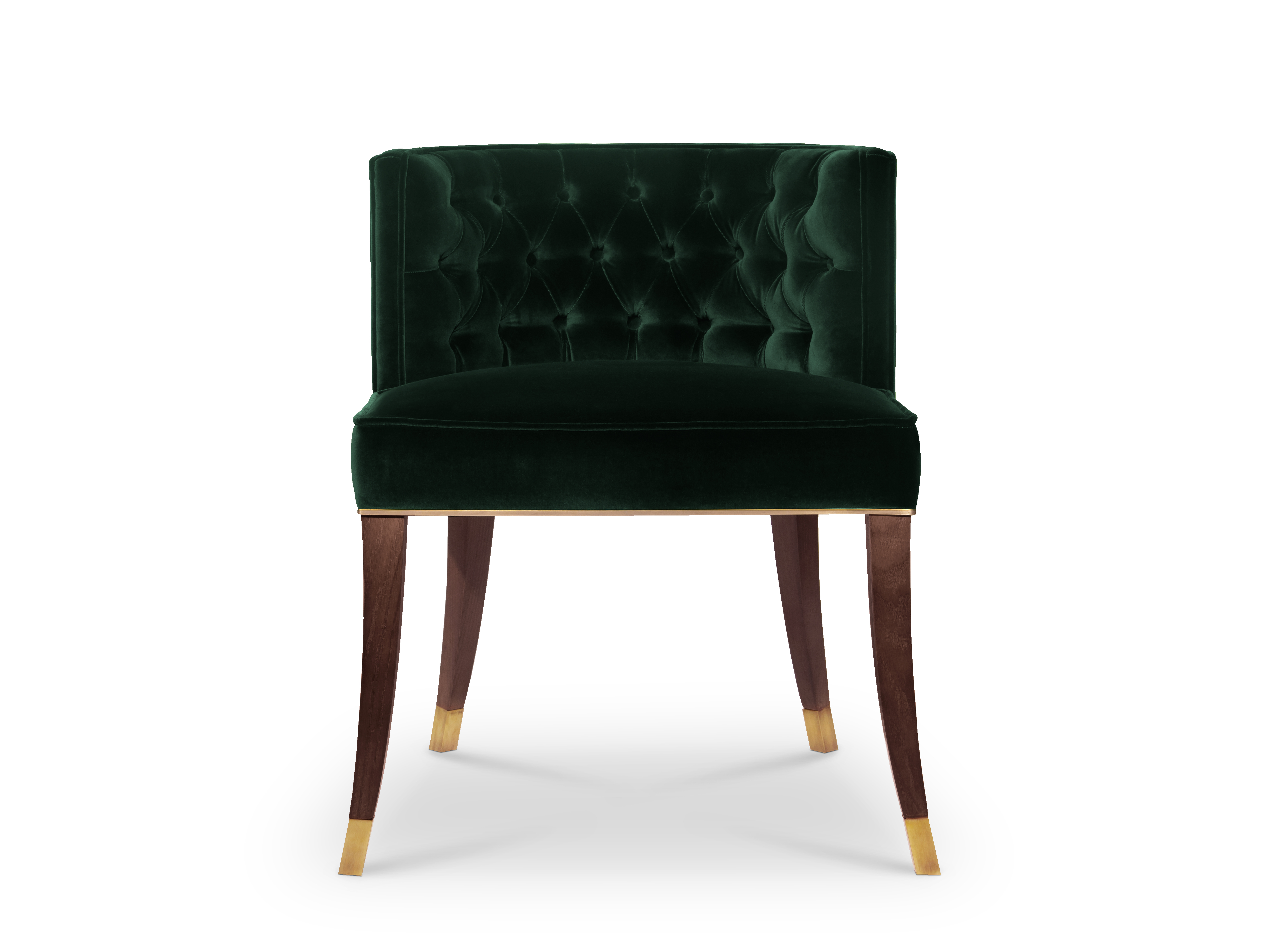Bourbon Dining Chair Mid Century Design By Brabbu