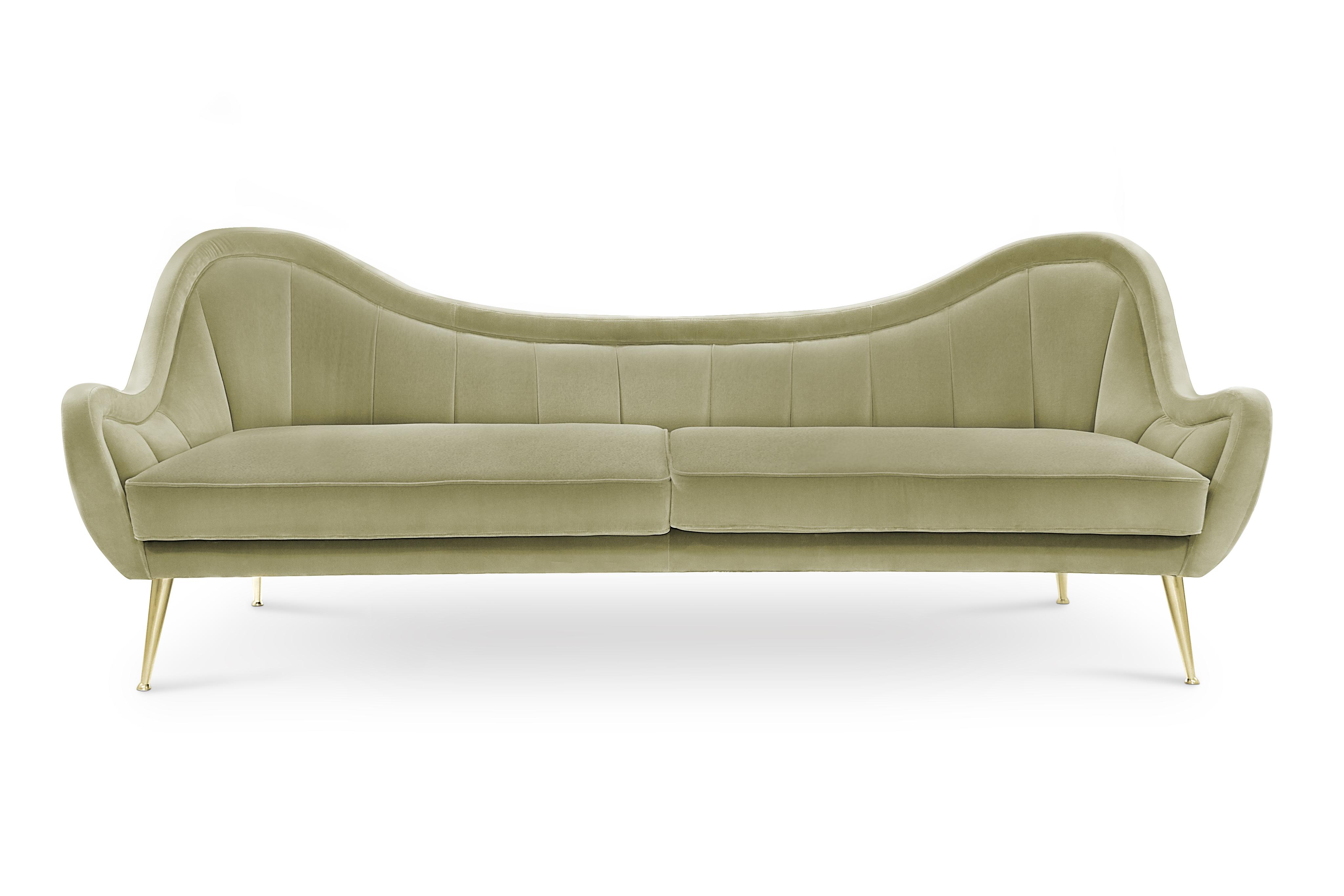 HERMES 2 Seat Sofa Modern Contemporary Furniture By BRABBU