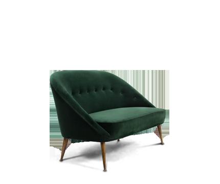 MAASAI 2 Seater Sofa Mid Century Modern Furniture By BRABBU