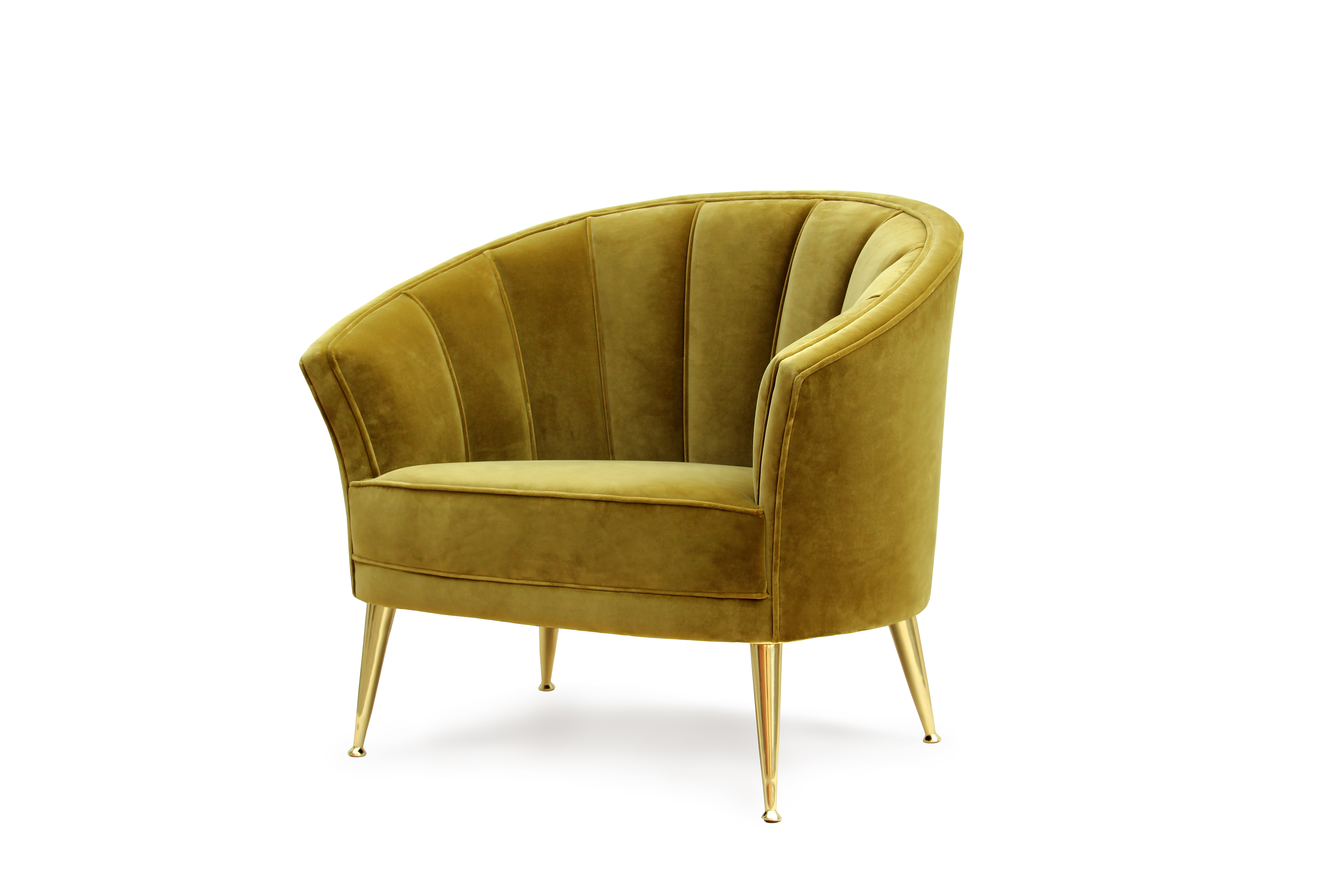 Maya armchair mid century modern furniture by brabbu for Contemporary armchair