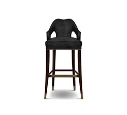 Nº20 Bar Chair Modern Design by BRABBU it's an elegant bar stool with back ideal for a modern home decor.