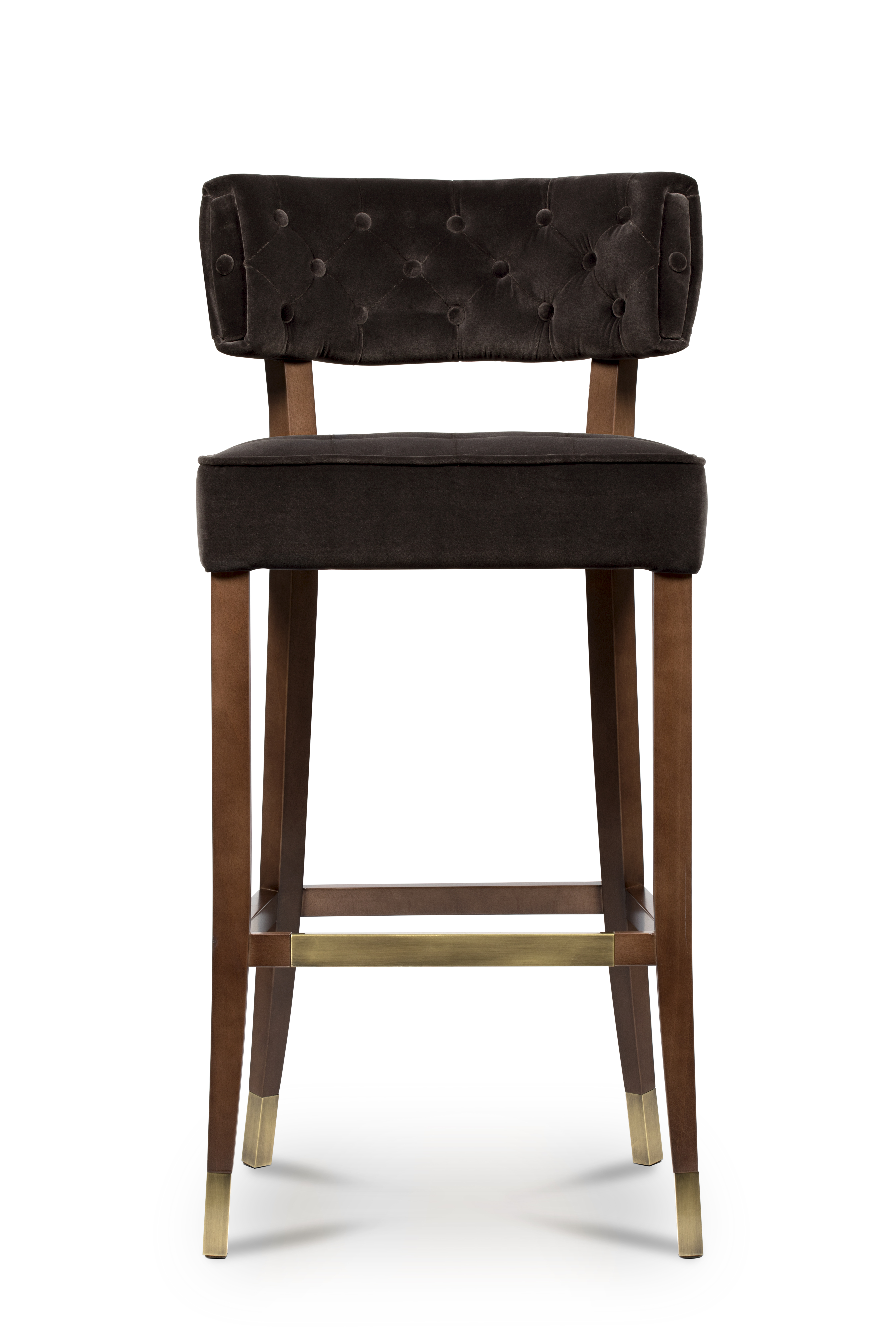 Zulu Bar Chair Mid Century Modern Furniture By Brabbu