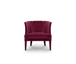 BEGONIA Armchair Contemporary Design by BRABBU that will conquer all the living room sets.