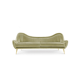 HERMES | 2 Seater Sofa Modern Contemporary Furniture by BRABBU