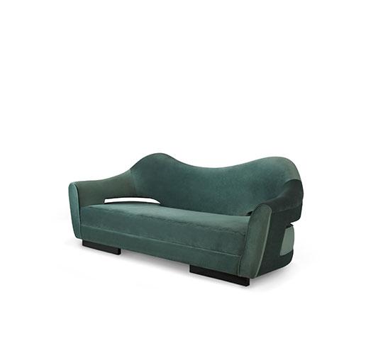 NAU | Velvet Sofa Mid Century Modern Furniture by BRABBU the best sofas that will make you feel at home THE BEST SOFAS THAT WILL MAKE YOU FEEL AT HOME nau velvet sofa mid century modern furniture 2