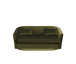 EARTH | Velvet Sofa Modern Design by BRABBU