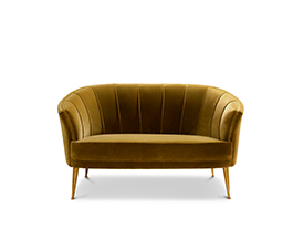 MAYA | 2 Seater Mid Century Modern Furniture by BRABBU