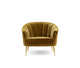 MAYA | Armchair Mid Century Modern Furniture by BRABBU