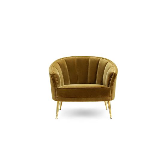 MAYA | Armchair Mid Century Modern Furniture by BRABBU künstlerisches projekt Künstlerisches Projekt von Ananiev Interiors mit BRABBU maya armchair 1 540x505