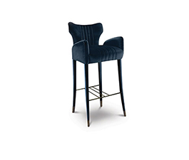 DAVIS Bar Chair Mid Century Modern Design by BRABBU is easily admired by its harmony in any living room set.