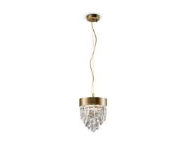 NAICCA | Brass Pendant Light Contemporary Lighting Design by BRABBU