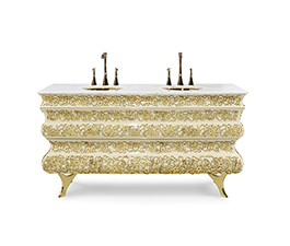 Crochet | Washbasin Modern Design by Maison Valentina