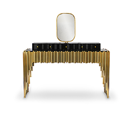 SYMPHONY I Dressing Table Modern Design by Maison Valentina