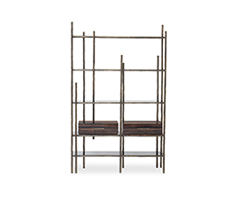 MAMBU | Wood Bookcase Modern Design by BRABBU