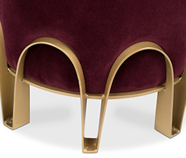 NUI | Velvet Stool Contemporary Design by BRABBU