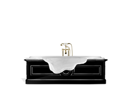PETRA | Bathtub Modern Design by Maison Valentina