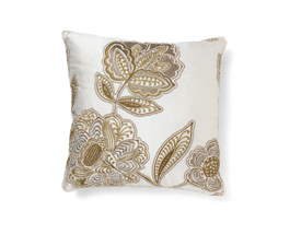 Gold | Satin Classic Design Pillow by BRABBU