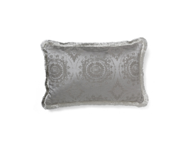 Madala Grey | Cotton Classic Design Pillow by BRABBU