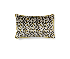 ALBUS WHITE | Eclectic Design Pillow by BRABBU