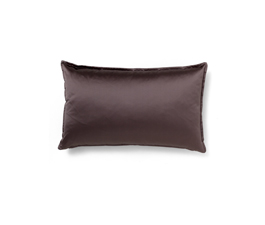 Onyx | Satin Essential Design Pillow by BRABBU