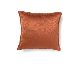 MARMUR ORANGE | Eclectic Design Pillow by BRABBU