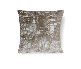 Wallingford Yellow | Twill Ecletic Design Pillow by BRABBU