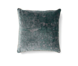 Wallingford Blue | Twill Ecletic Design Pillow by BRABBU