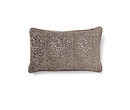 PARDUS BROWN | Eclectic Design Pillow by BRABBU