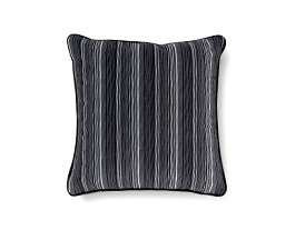 Versicolor Grey | Velvet Geometric Design Pillow by BRABBU