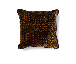 GERARD EARTH | Geometric Design Pillow by BRABBU
