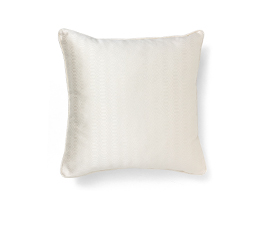 METROPOLIS WHITE | Geometric Design Pillow by BRABBU