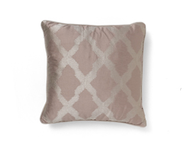 Morocco Pink | Satin Classic Design Pillow by BRABBU