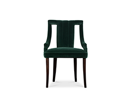 CAYO | Velvet Dining Chair Modern Design by BRABBU