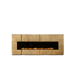 MUSA | Modern Fireplace by Foogo
