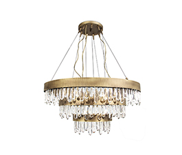 NAICCA Chandelier | Modern Design by BRABBU