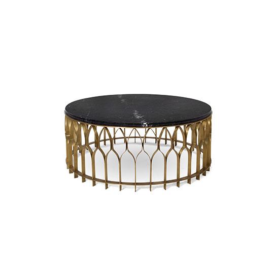 MECCA Brass Coffee Table Modern Design by BRABBU will enhance your modern home decor.  2020 Wohnzimmer Neuheiten: Couchtische mecca center table 1 HR