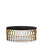 MECCA Brass Coffee Table Modern Design by BRABBU will enhance your modern home decor.