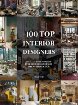 Selection of +100 Top Interior Designers of the world of 2020.