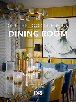 The best dining room ideas from the most distinguished brands and designers.