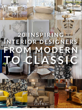 In this Ebook we highlight 20 amazing and powerful designers that are well known for creating spectacular interiors within the modern, classic, mid-century or contemporary styles.