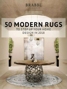 50 Modern Rugs To Step Up Your Home Design In 2018