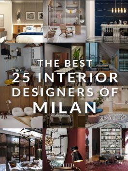 Milan is widely regarded as a global capital in industrial design, fashion and architecture!  In this book we'll present you to some of these incredible design personalities that are all proud to call